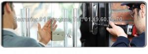 les serruriers du 91 sont formés pour assurer tous dépannages dans l'urgence ou bien sur rendez-vous pour tous problèmes de serrurerie (ouverture de portes, changement de serrure, blindage de porte), notre entreprise de serrurerie peut intervenir à votre domicile dans un délai très court car nos techniciens sont éparpillés un peu partout dans l'Essonne :Savigny sur Orge, à Palaiseau, à Viry Chatillon, ou encore à Brunoy