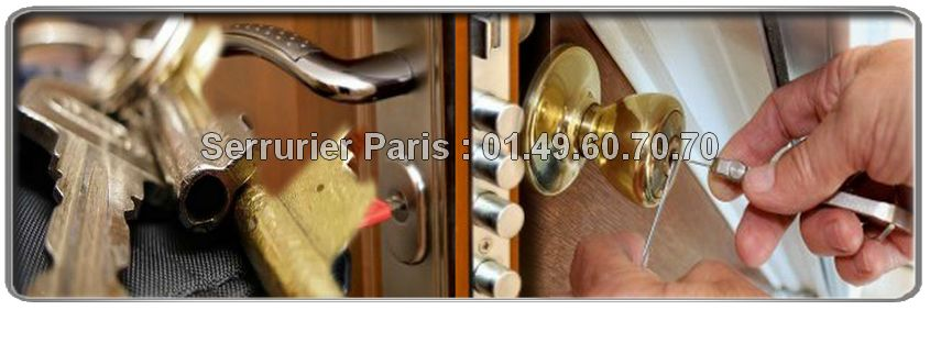 Vous recherchez un serrurier sur Paris pour changer votre serrure? Contactez le 01.49.60.70.70